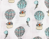 Sweet Melody Embrace DOUBLE GAUZE - Up Up And Away from Shannon Fabrics