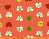 Far Far Away 2 - Roses Coral by Heather Ross from Windham Fabrics