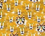 Lions and Tigers by Ed Emberley from Cloud 9 Fabrics