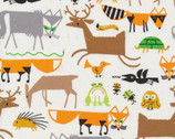 Forest Friends by Ed Emberley from Cloud 9 Fabrics