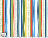 Happy Hoedown - Mowed Down Summer Stripe from Michael Miller Fabric