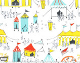 Carnival Fun White from Michael Miller Fabric