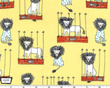 Mane Attraction Yellow from Michael Miller Fabric