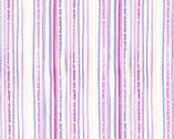 Fairy Frolic - Pixie Stripe Twinkle Lavender Purple from Michael Miller Fabric