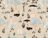 Safari Dreams - Menagerie Sand boy Teresa Chan from Camelot Fabrics