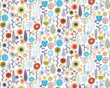Family Recipes - Flowers Garden by Vicky Yorke from Camelot Fabrics