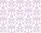 The Girls Collection - Nordic Floral Heart Lilac by Laura Ashley from Camelot Fabrics