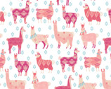 The Girls Collection - Llama Rama by Laura Ashley from Camelot Fabrics