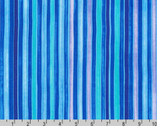 Synchronicity - Stripes Caribbean Blue Purple from Robert Kaufman Fabric
