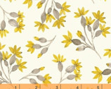 Eliana -  Floral Buds Cream by Whistler Studios from Windham Fabrics