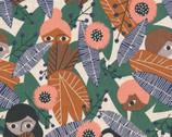 Plant Peeps COTTON LINEN - Wild Wonder by Meenal Patel from Cloud 9 Fabrics