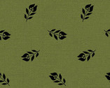 French Connections - Green Sprout by Marsha McCloskey from Clothworks Fabric