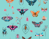 Curio - Capri Curiosities Butterfly Bugs by Betsy Olmsted from Windham Fabrics