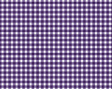 Beautiful Basics - Classic Check Grape Purple 610M-V from Maywood Studio Fabric