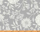 Eliana - Mono Floral Gray by Whistler Studio from Windham Fabrics