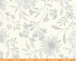 Eliana - Mono Floral Cream by Whistler Studio from Windham Fabrics