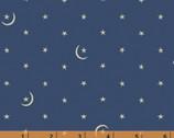Cunningham C.1880-1890 - Stars Moon Blue from Windham Fabrics