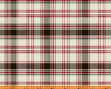 Home Sweet Cabin - Plaid Cream Red from Whistler Studios from Windham Fabrics