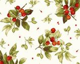 Bountiful - Berries Cream from Maywood Studio Fabric