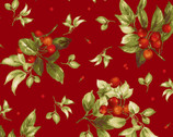 Bountiful - Berries Rich Red from Maywood Studio Fabric