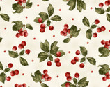 A Fruitful Life - Cherries Cream from Maywood Studio Fabric