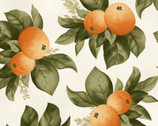 A Fruitful Life - Citrus Orange Cream from Maywood Studio Fabric