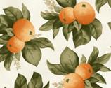 A Fruitful Life - Citrus Orange Cream from Maywood Studio Fabric