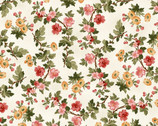 A Fruitful Life - Blossoms Cream from Maywood Studio Fabric