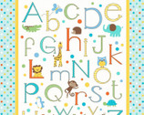 Alphabet Zoo - Panel from Springs Creative Fabric