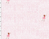 Lola Dutch - At The Library White Pink by Sara Jane from Michael Miller Fabric