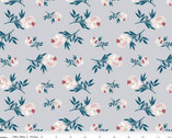 Blooms and Blobbins - Rose Gray by Melissa Mora from Riley Blake Fabric