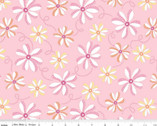 Perfect Party Floral Pink from Riley Blake Fabric