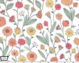 Nature Journal - Wildflower Study Petal from Michael Miller Fabric