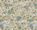 Fresh Eggs Floral Slats Flowers from Springs Creative Fabric