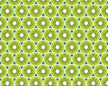 Flamingo Beach - Kiwis Lime Green by Chelsea DesignWorks from Studio E Fabrics