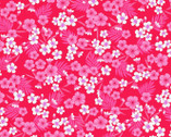Flamingo Beach - Mini Tropical Floral Pink by Chelsea DesignWorks from Studio E Fabrics