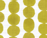 Simple Life CANVAS - Circle Stones Mustard Yellow from Kokka Fabric
