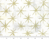 Grunge Seeing Stars Metallic - Vanilla Off White 11M by BasicGrey from Moda Fabrics