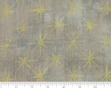 Grunge Seeing Stars Metallic - Gray Coutur Grey 47M by BasicGrey from Moda Fabrics