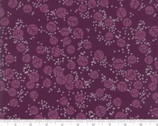 Growing Beautiful - Circle Leaves Plum Purple by Crystal Manning from Moda Fabrics