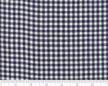 Picnic Basket Wovens - Check Navy Dark Blue from Moda Fabrics