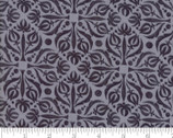 Sweet Pea Lily - Tile Medallion Fog Grey by Robin Pickens from Moda Fabrics