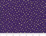 Modafications Metallic - Dots Purple by Howard Marcus from Moda Fabrics