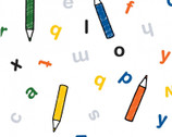Miffy School - Alphabet Pencils from The Craft Cotton Company