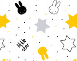 Miffy Twinkle - Monochrome Stars from The Craft Cotton Company
