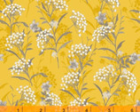 Marguerite - Button Flower Mustard Yellow by Whistler Studios  from Windham Fabrics