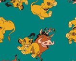 The Lion King FLEECE - Simba Friends from Springs Creative Fabric