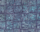Crosshatch Blue Batiks from Wilmington Fabric