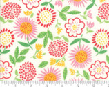 Best Friends Forever - Floral White by Stacy Iest Hsu from Moda Fabrics