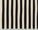 Sevenberry CANVAS - Natural Stripes Black by Sevenberry from Robert Kaufman Fabric